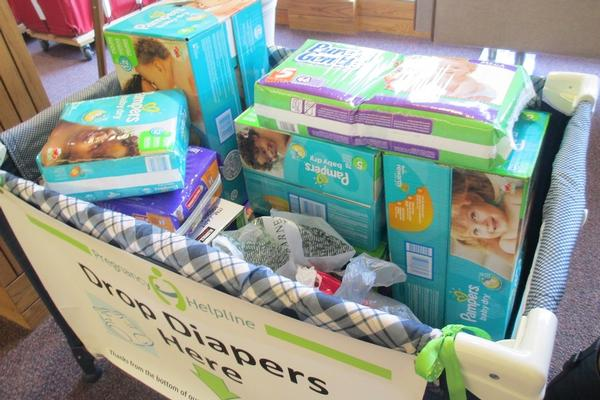 Donate Diapers at the DiaperDrive