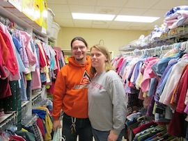 Free baby items for women and families. Volunteers needed!