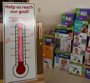 Visit our Diaper Bank in Dane County for Madison Free Diapers